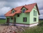 Novostavba rodinného domu v Poběžovicích