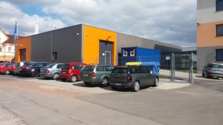 Novostavba výrobní a skladovací haly Česká Třebová